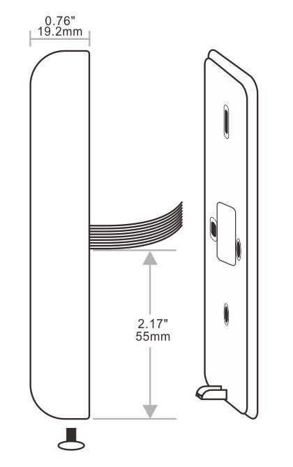 金属门禁接线图